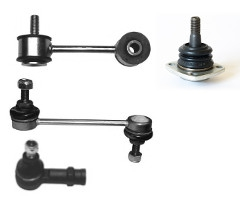 Шаровые опоры, стойки (тяги) стабилизатора, рул. наконечники и тяги